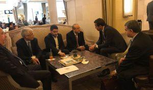  خوري بحث مع نظيره الجزائري سبل تعزيز العلاقات التجارية