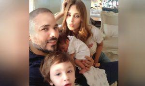 فيديو طريف لرامي عياش مع ابنته أيانا