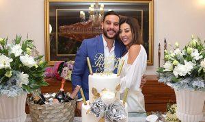 بالفيديو والصور: بعد عودتها من قبرص.. هكذا احتفلت رولا شامية بزواجها