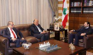 الحريري بحث مع وزير خارجية مصر الأوضاع العربية والدولية