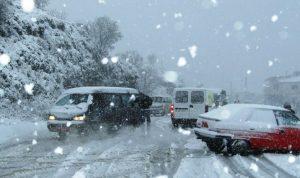 """لبنان يستقبل """"ميريام"""" الثلثاء.. رياح شديدة والثلوج على الـ600 متر!"""