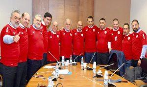 هكذا شجع نواب لجنة الشباب والرياضة منتخب لبنان! (بالصورة)
