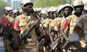 الجيش السوداني: لن تسمح بسقوط البلاد أو انزلاقها