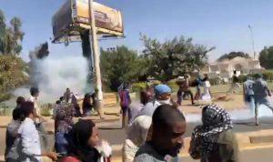 استمرار الاحتجاجات في السودان رغم حظر التظاهر