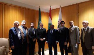 وصول وزير خارجية جزر القمر الى بيروت