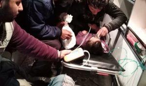 إصابة طفلة سورية بحالة اختناق جراء الفحم
