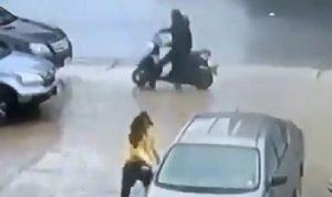 بالفيديو: سرقة في وضح النهار في الضبية!