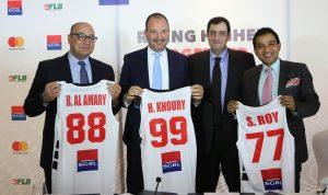 """بنك سوسيته جنرال في لبنان وماستركارد يوقّعان  شراكة مع اتحاد """" السلة"""""""