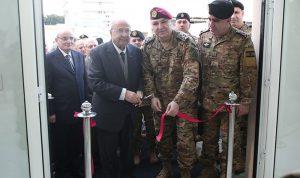 قائد الجيش افتتح مكتبا للضباط المتقاعدين