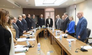 لجنة الإدارة قررت الاستماع الى الاشغال بشأن اوتوستراد برج رحال