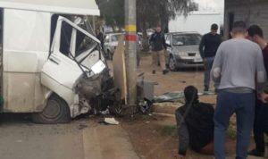 جريح بحادث سير على طريق الهرمل-القصر