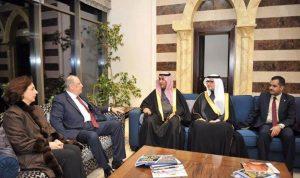 رسالة دعم قوية من السعودية إلى لبنان