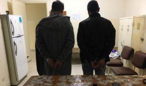 في نهر الموت… اثنان من أخطر مروجي المخدرات بقبضة الامن