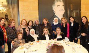 الحريري كرمت المشاركات في مؤتمر عن واقع المرأة العربية