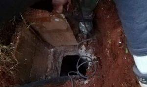 انتشال جثة رضيع من جورة للصرف الصحي في البقاع