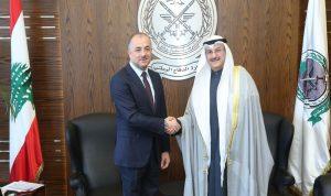 بو صعب يشكر الكويت لدعمها لبنان