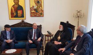 بو صعب: لا خلاف على بناء جامعة القديس جاورجيوس
