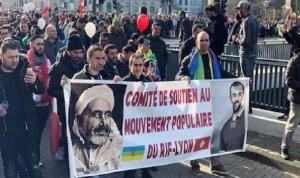 مسيرات في بروكسل تطالب بإطلاق سراح المعتقلين في المغرب