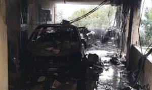 في بصاليم… انفجار قارورة غاز واحتراق سيارتين!