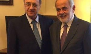 بوغدانوف يؤكد لأبو زيد اصرار روسيا على عودة النازحين