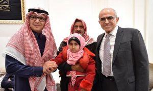 بخاري لمهى العاجزة عن المشي: طفلتي الصغيرة نحن معك