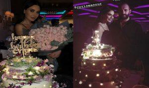 هكذا احتفلت سيرين عبد النور بعيد ميلادها! (بالفيديو والصور)