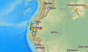 زلزال ضرب حدود الإكوادور مع بيرو  (فيديو)