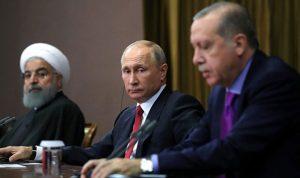 بوتين وأردغوان وروحاني يبحثون الشأن السوري في أنقرة الاثنين
