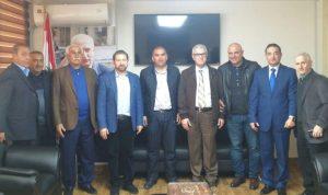 كرامي وعد بمتابعة ملف البضائع في مرفأ طرابلس