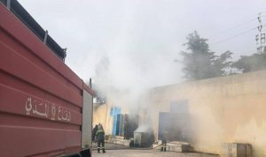 حريق مولدين للطاقة الكهربائية في مدرسة بزحلة (بالصور)
