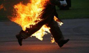 في مرجعيون.. أحرق جسده بسبب خلاف مع زوجته