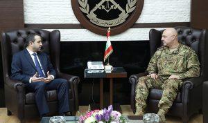 قائد الجيش عرض الأوضاع العامة مع عطاالله