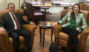 كيدانيان عرض وسفيرة أستراليا السياحة بين البلدين
