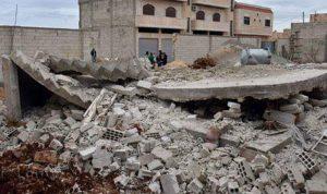 وفاة 3 أشخاص من أسرة واحدة بانهيار مبنى في حماة