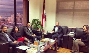 """اجتماع وزارة البيئة: فادي جريصاتي و""""الكتائب"""" يلتقيان"""