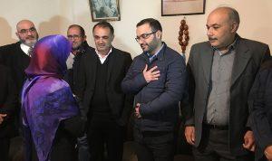 نواب وشخصيات زاروا وزير الثقافة مهنئين