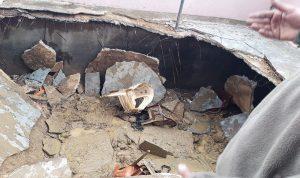 13 جريحا بانهيار سقف في الهرمل