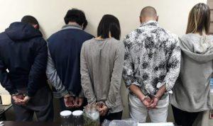 توقيف مروجي ومتعاطي مخدرات في منتجع سياحي بالكسليك