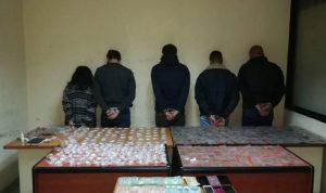 توقيف عصابة تروج المخدرات في المتن