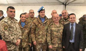 مناورة عسكرية بين الجيش والكتيبة الإيطالية في صور
