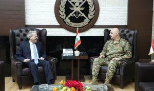 قائد الجيش التقى سفير لبنان في أميركا