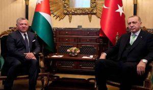 العاهل الأردني يبحث مع أردوغان قضايا المنطقة