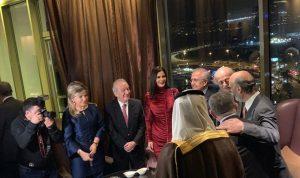 بالصور: عشاء بدعوة من السفارة السعودية يجمع الوزراء والنواب