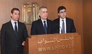 اقتراح قانون من 3 نواب من تكتل لبنان القوي