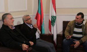 سعد عرض ووفد من صيادي الأسماك أوضاع القطاع
