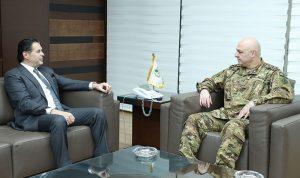 علامة التقى قائد الجيش: فضل المؤسسة كبير على أمننا
