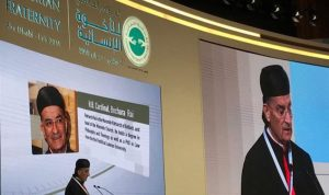 الراعي: الإمارات تتوج مسيرة انفتاحها والناس بحاجة للسلام
