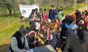 توزيع مازوت وحرامات على النازحين في طرابلس وزغرتا