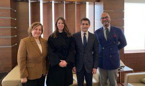 قيومجيان بحث ووفد منظمة العمل الدولية سبل التعاون