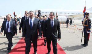 الحريري في شرم الشيخ للمشاركة في القمة العربية-الأوروبية
